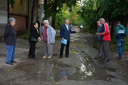 A Fűrész utca javítását követelték