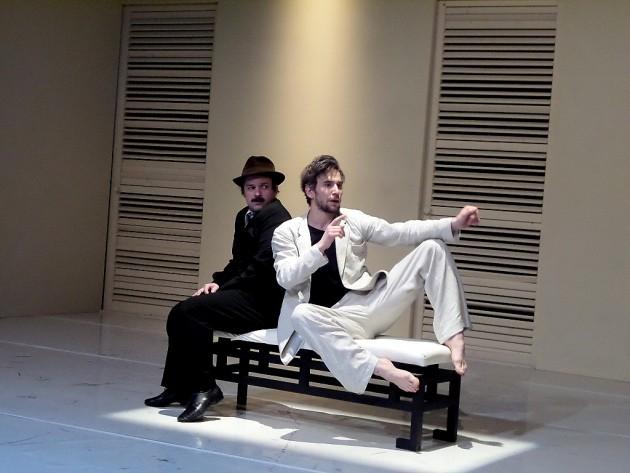 (b-j) Sancho (Füzi Attila) és Quixote (Lukács Ádám) PTV fotó: Vona Ildikó