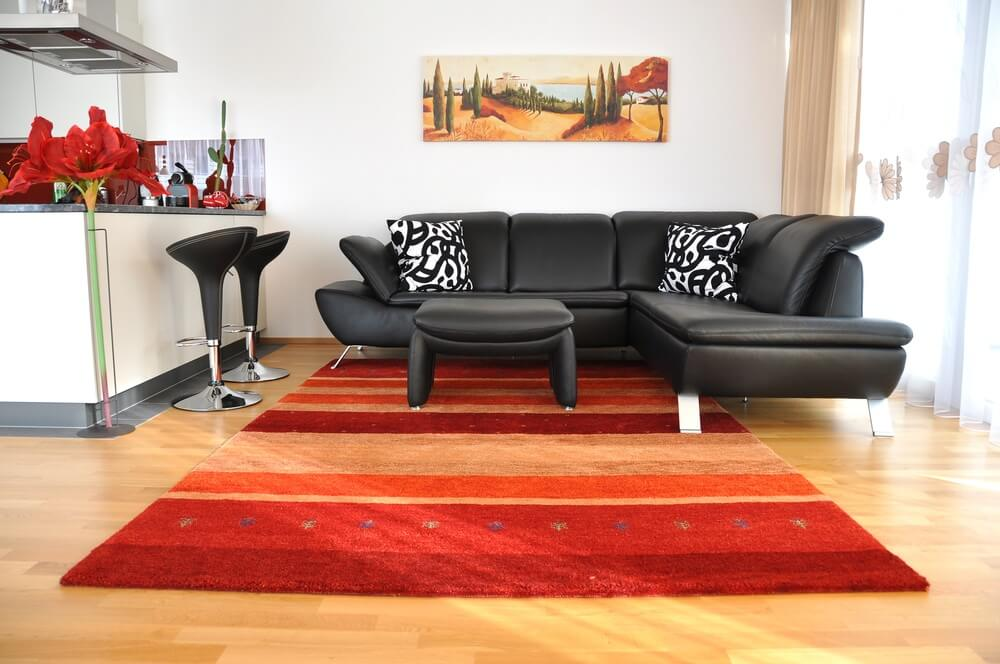modern-living-room-area-rug-red nagy