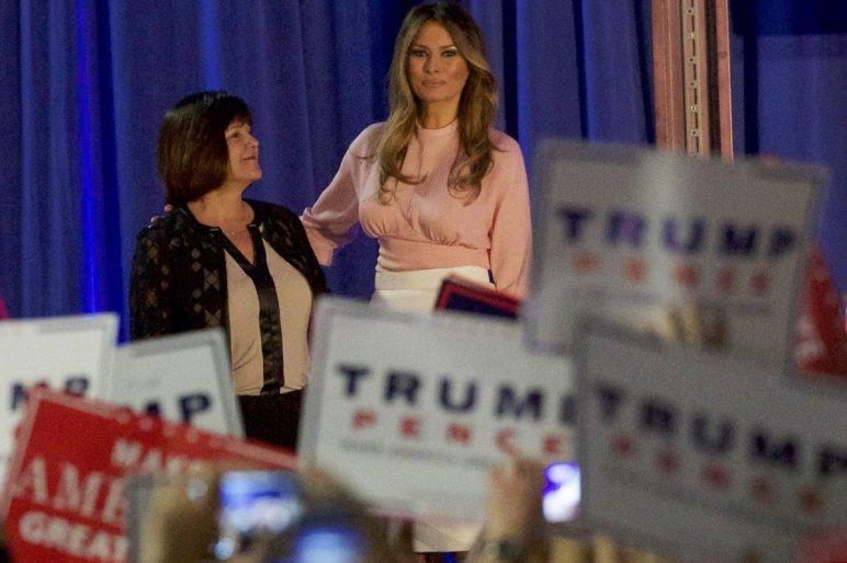 Melania Trump bevándorlónak titulálta magát