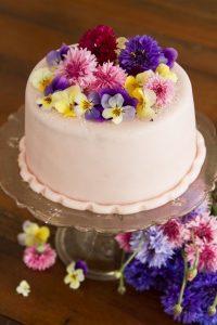 Nyári kert torta
