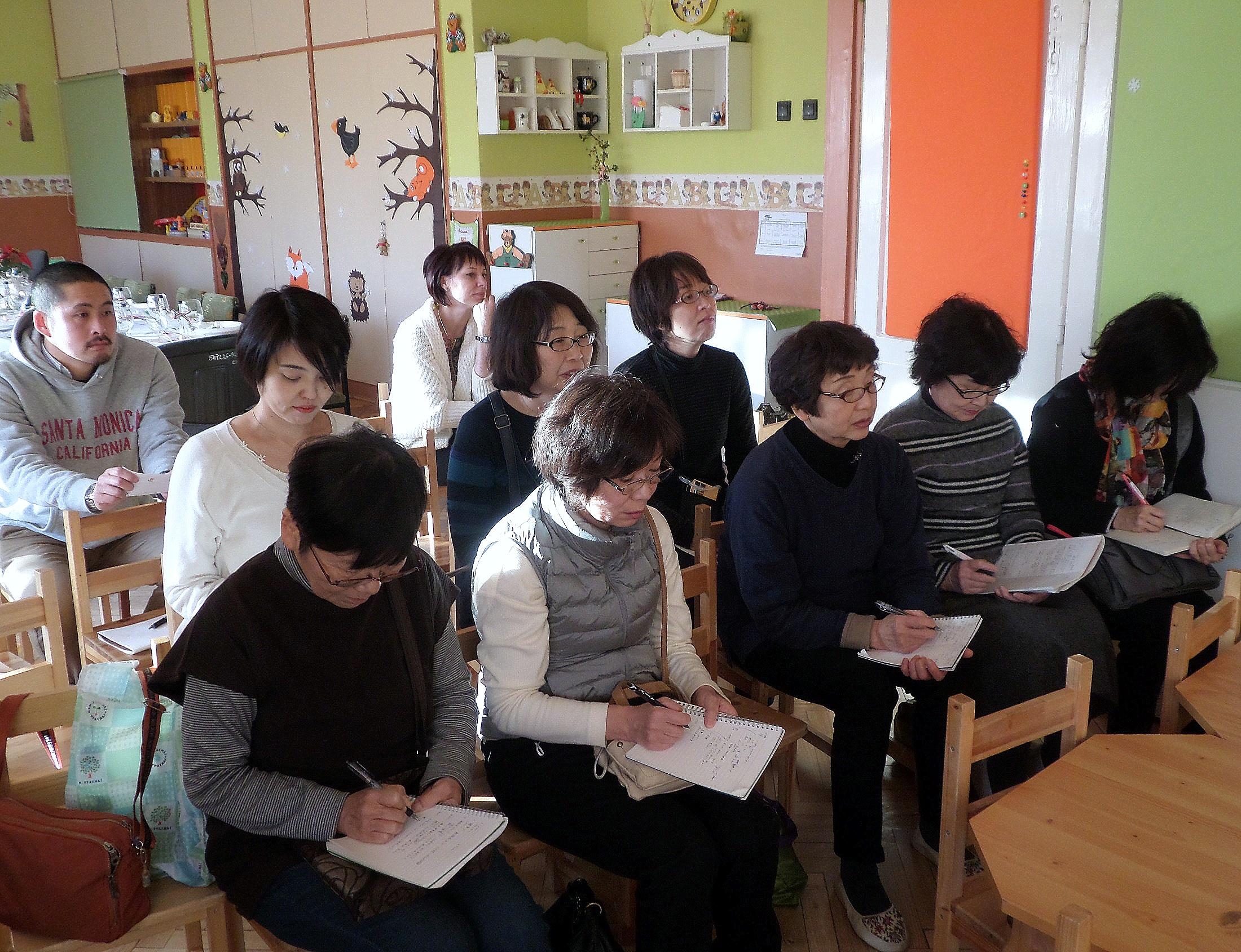 A japán vendégek / PTV Fotó: Vona Ildikó