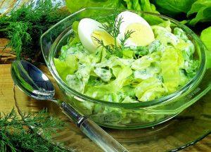 Salátafőzelék hidegen