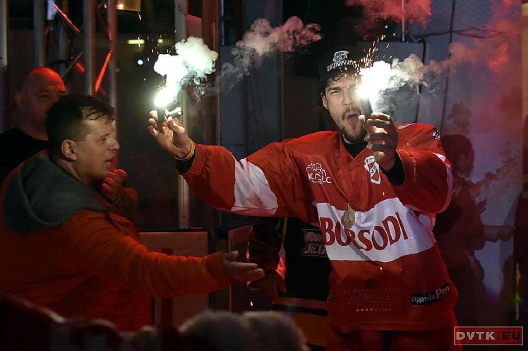 Győzelem! (Fotó: dvtk.eu/ Szabó Krisztián)