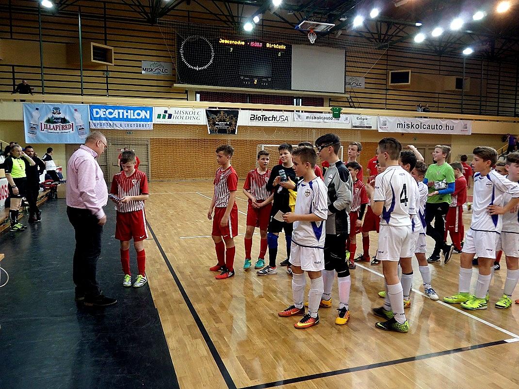 A jövő labdarúgói / PTV Fotó: Vona Ildikó