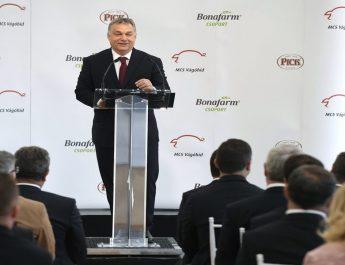 Orbán: a magyar húsipar visszaszerezte önbizalmát