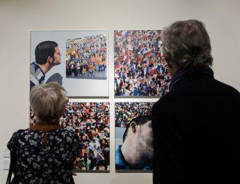 A V4-ek kortárs képzőművészeinek alkotásaiból nyílt kiállítás Brüsszelben