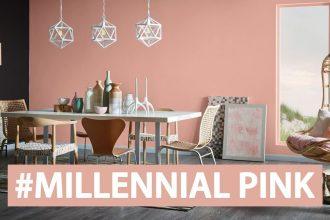 millenial pink