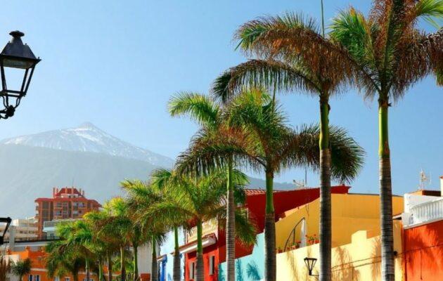 Tenerife puerto de la cruz