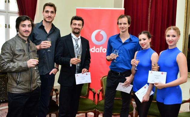Az idei Vodafon ösztöndíjasok Fotó: Gálos Mihály Samu