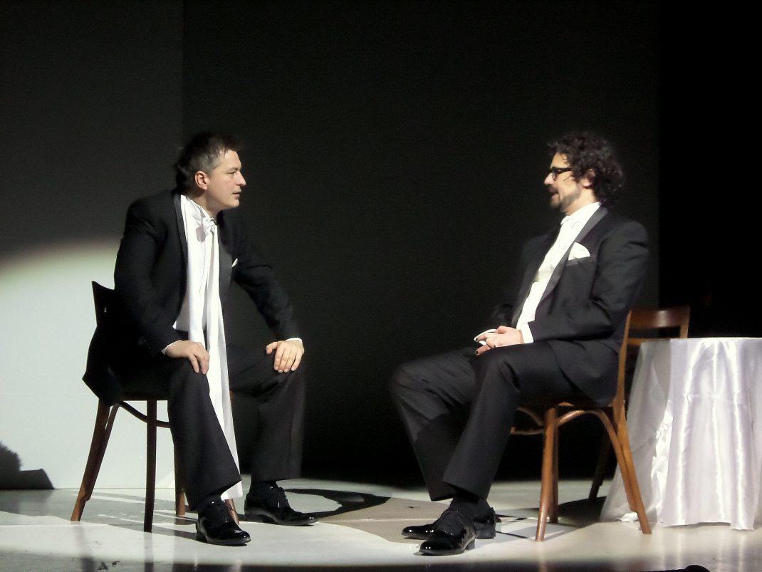 Szőcs Arturral, a gálaest rendezőjével / PTV Fotó: Vona Ildikó