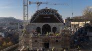 Újjáépítés a budai Várban