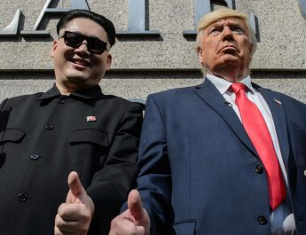 Trump Kim Dzsong Un