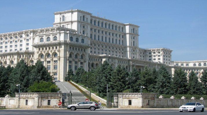 Románia parlament