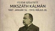 172 éve született Mikszáth Kálmán író