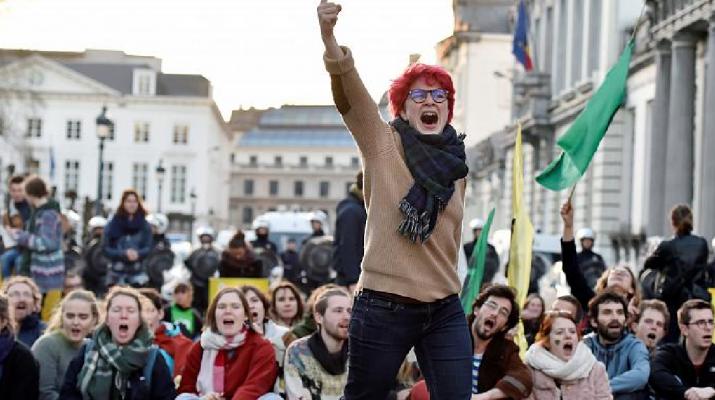 Átrajzolja a belga politika térképét a klímavédelem