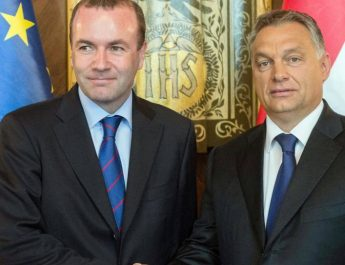 Viktor-Orban-und-Manfred-Weber