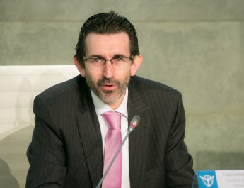 Juan Carlos Corvera, az Educatio Servanda alapítvány elnöke