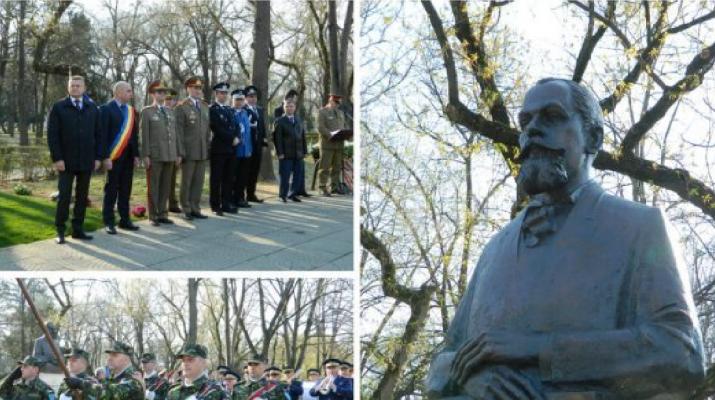 Nagyváradon felavatták az első világháború utáni román-magyar határ egyik kijelölőjének a szobrát