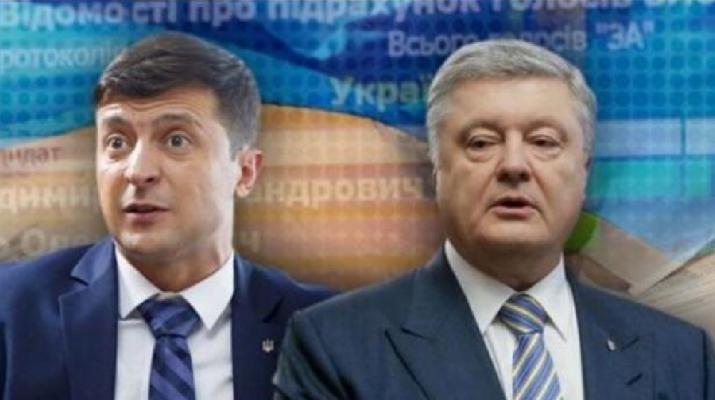 Zelenszkij: Többé nem tisztelem Porosenkót