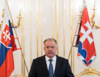 A szlovák államfő megvétózta a botrányos himnusztörvényt