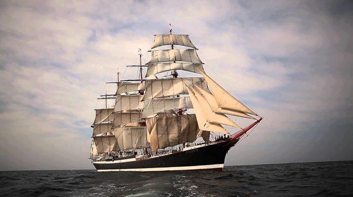 Szedov vitorlas oktatóhajó