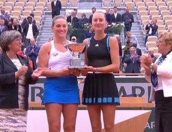 Babos Tímea Roland Garros győzelem