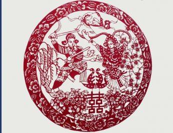kínai papírkivágás