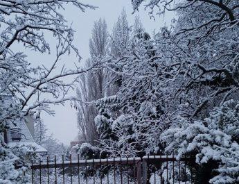 havazás Dunántúl hó
