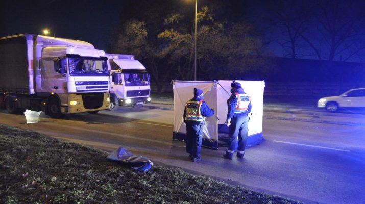 kamion Csepel baleset rendőrség