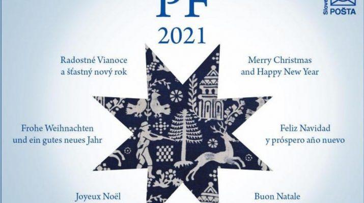 Szlovák Posta üdvözlőlap