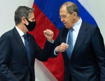 Anthony Blinken és Szergej Lavrov találkozója