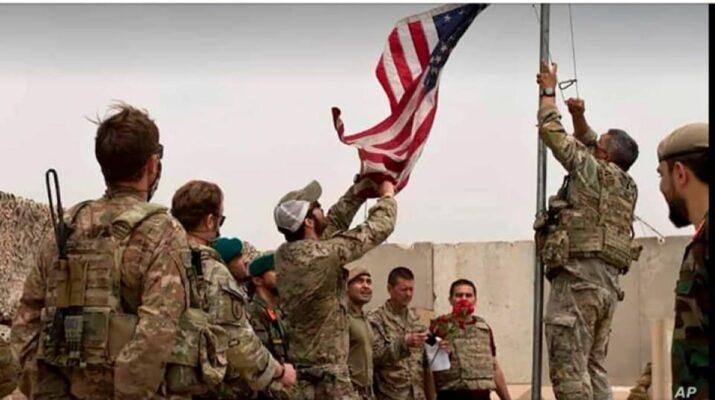USA katonai kivonulása Afganisztánból