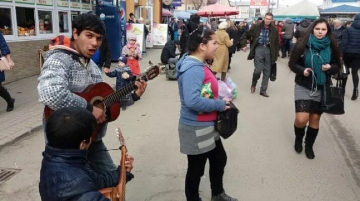 Ukrajna, vándorló romák